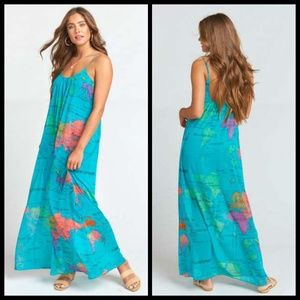 💕Show Me Your Mumu💕 Whole Mu World Maxi Dress